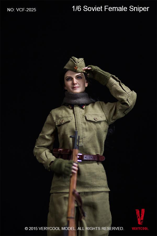 VERYCOOL VCF-2025 SOVIET FEMALE SNIPER