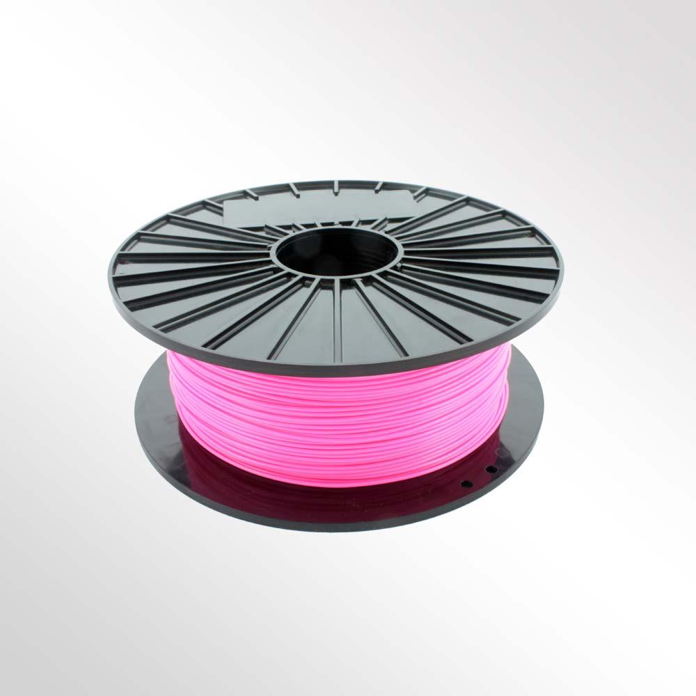 เส้นวัสดุ PLA ม้วนละ 1 กิโลกรัม (สีชมพู)