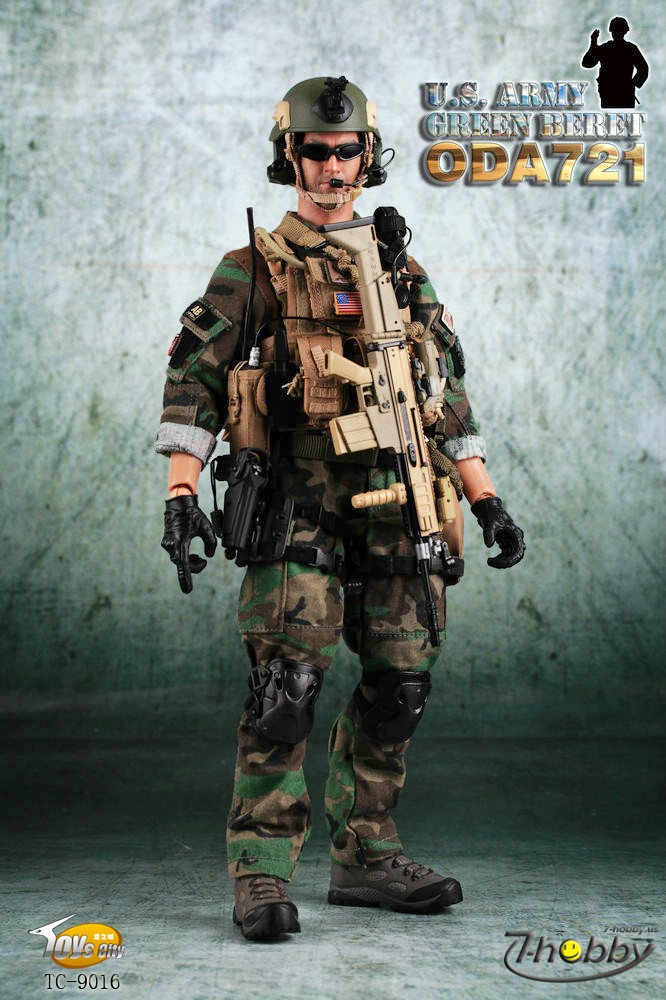 Toys City TC9016 U.S.ARMY GREEN BERET