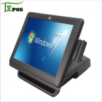 "FEC 15inch all in pos terminal with touch screen 12""15""17"""