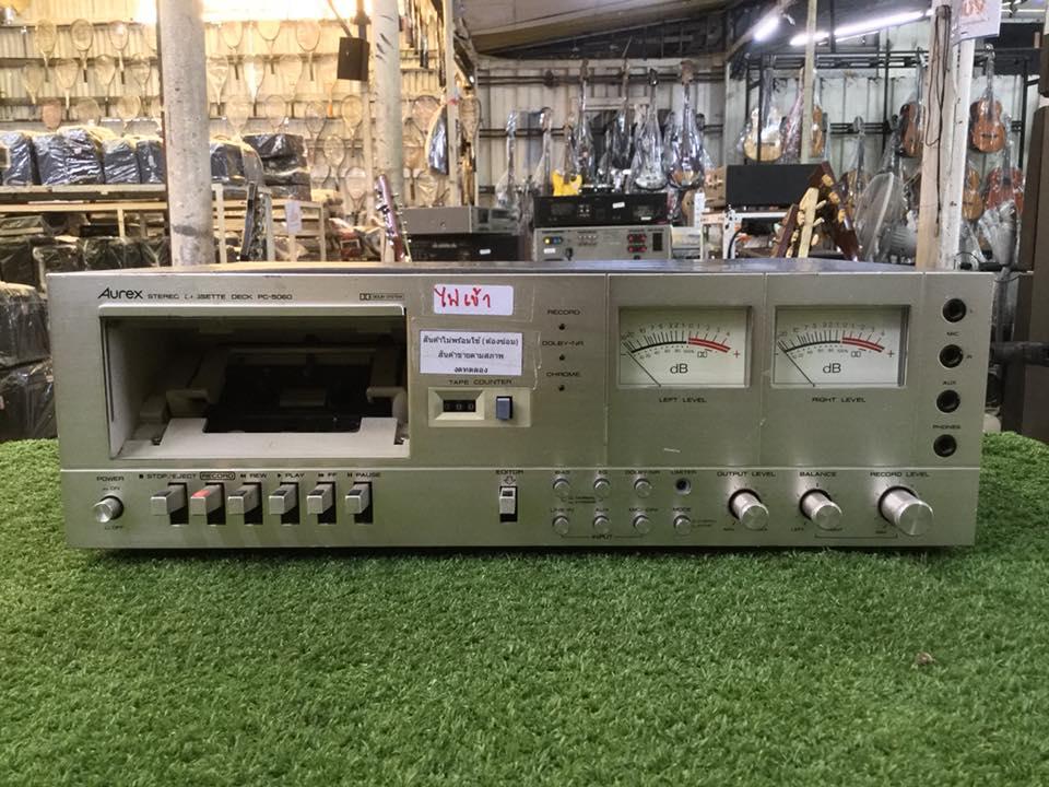 เครื่องเล่นเทป Aurex PC-5060