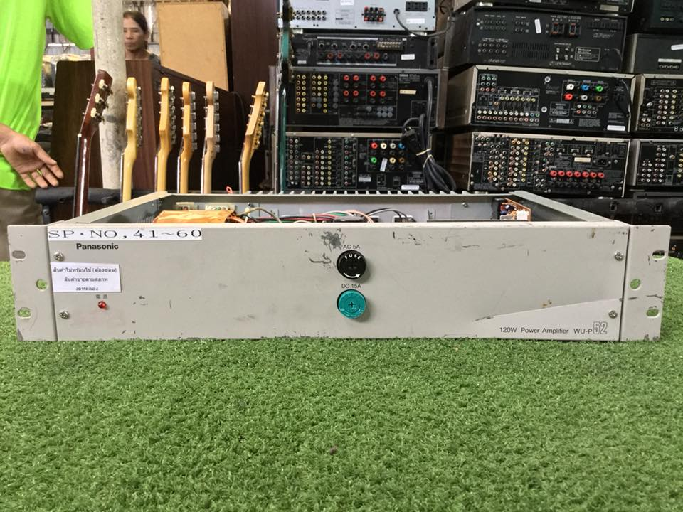 Power Amplifier Panasonic WU-P52 สินค้าไม่พร้อมใช้งานต้องซ่อม