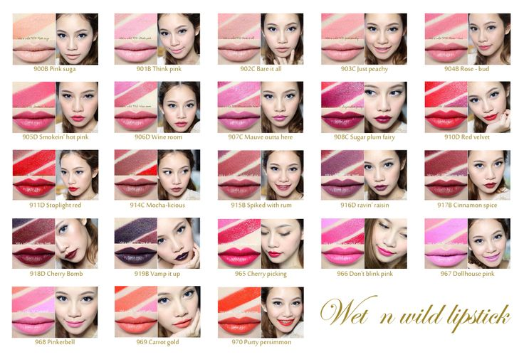 ผลการค้นหารูปภาพสำหรับ wet n wild lipstick