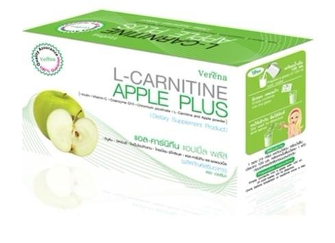 L-Carnitine Apple Plus แอล-คาร์นิทีน แอปเปิ้ล พลัสน้ำผลไม้เพื่อหุ่นเพรียวสวย