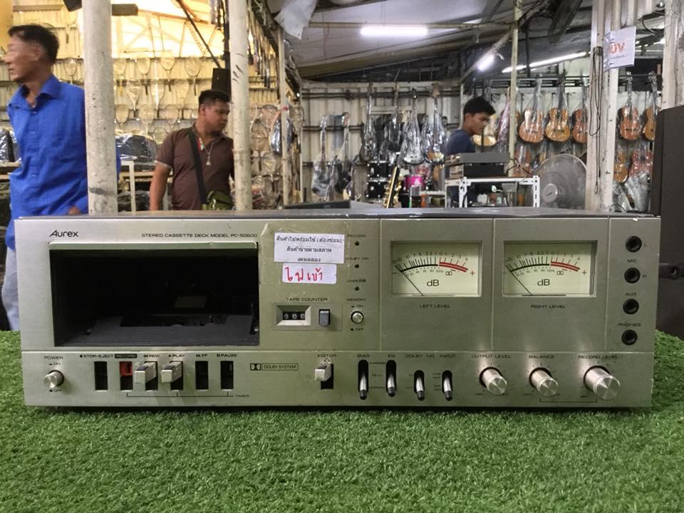 เครื่องเล่นเทป AUREX PC-50600 สินค้าไม่พร้อมใช้งาน (ต้องซ่อม)