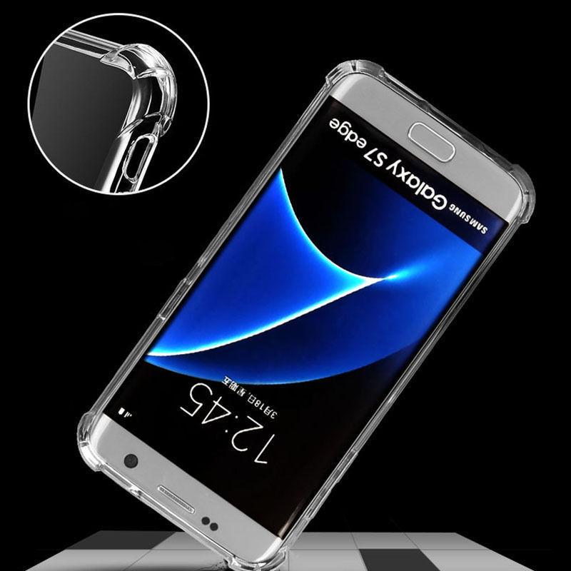 เคสใสกันกระแทก 4 มุม Samsung J7 Plus , J7 Pro , J7 Prime , J7 2016 , J7 Core , J7 2015