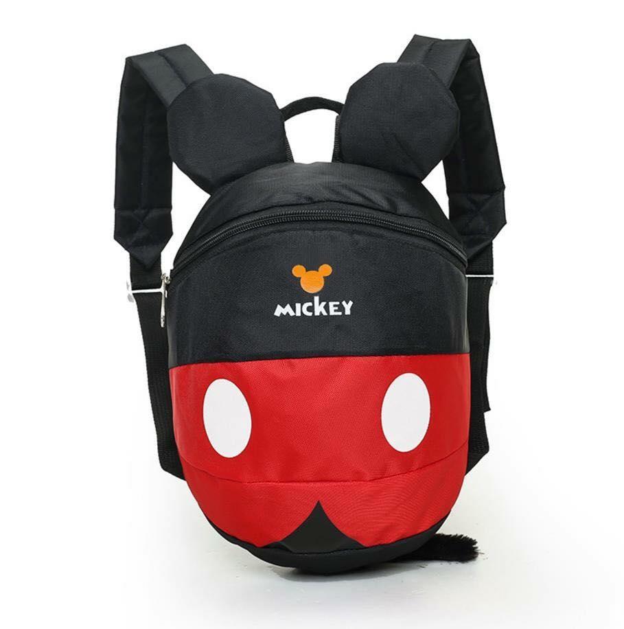 กระเป๋าเด็ก กระเป๋า เป้มิ๊กกี้เมาส์ สีดำ