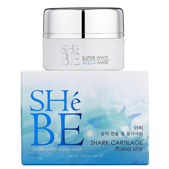 SheBE Super White Aqua Mask ชีบี มาส์คปลาฉลาม ft. ดาวทะเล