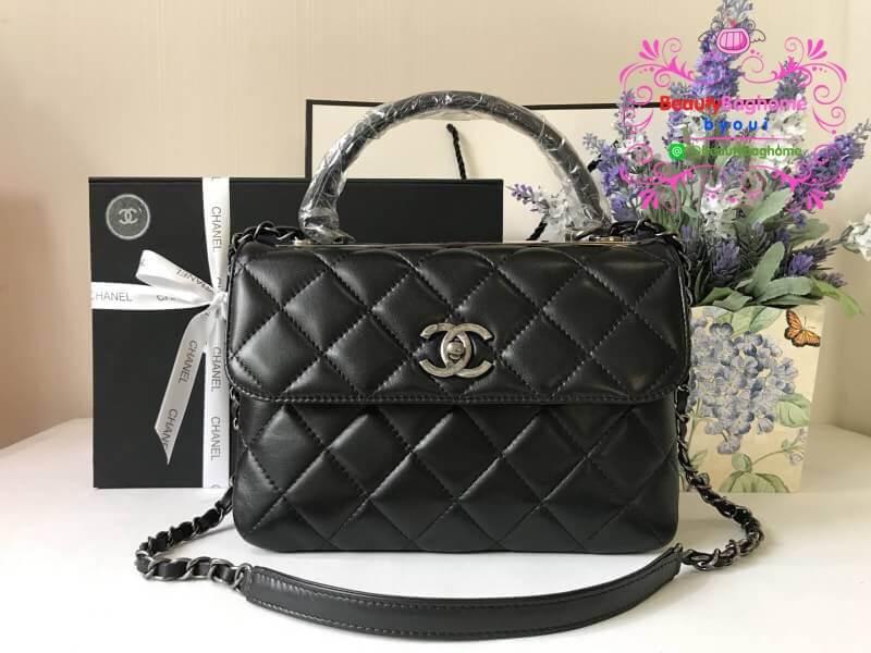 Chanel Trendy CC bag สีดำ งานHiend Original