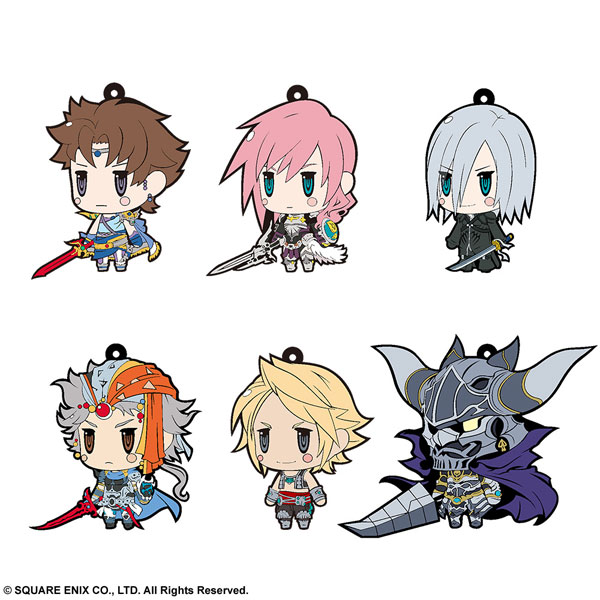 FINAL FANTASY Trading Rubber Strap Vol.7 6Pack BOX(Pre-order)