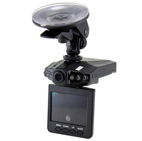 กล้องติดรถยนต์ HD DVR ระบบ Infrared 6 IR LED