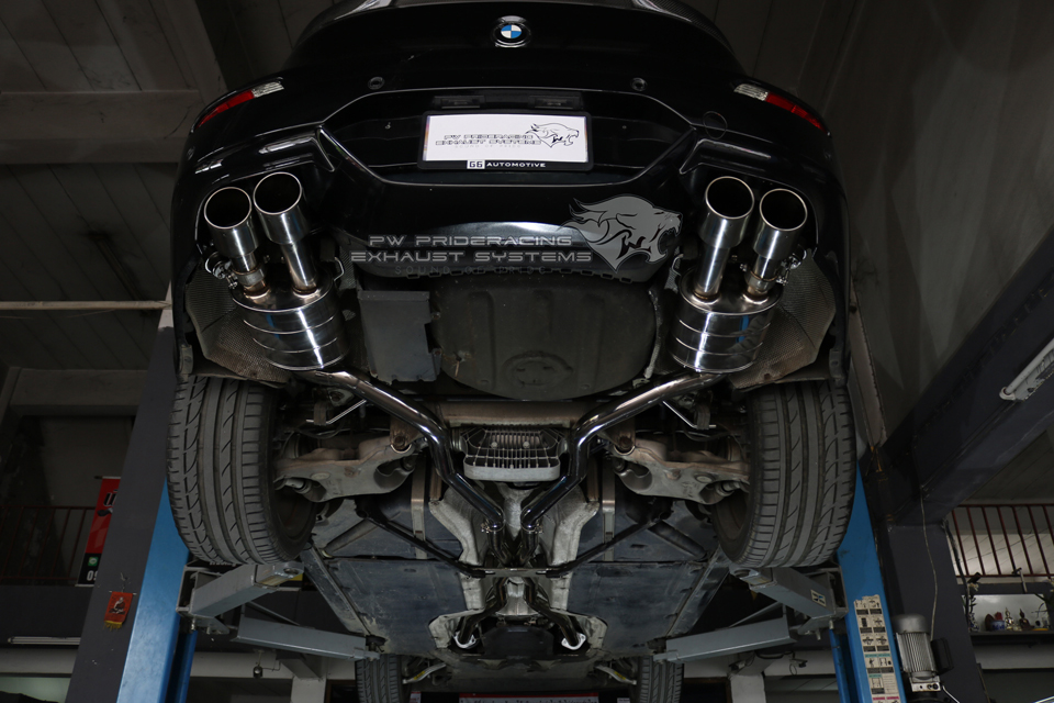 PW PrideRacing Exhaust Systems