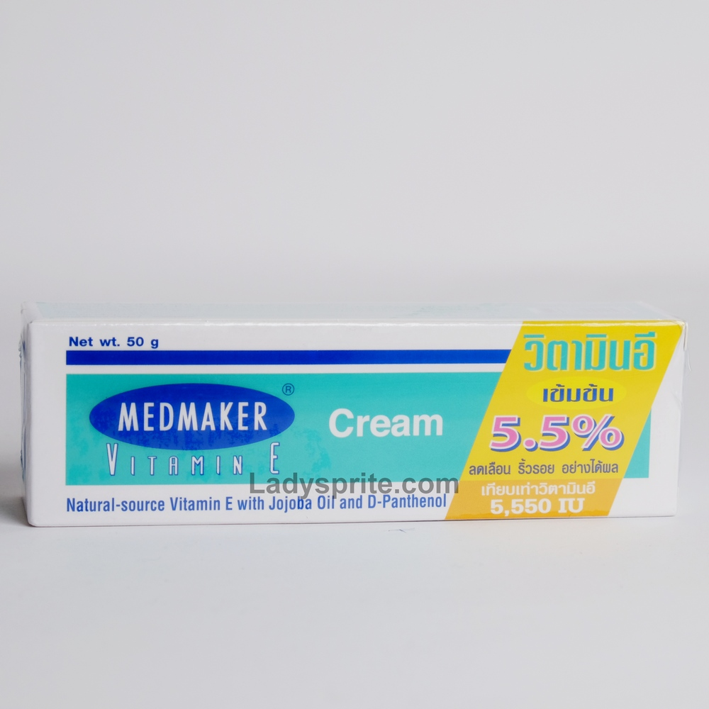 Medmaker Vitamin E Cream 50g.