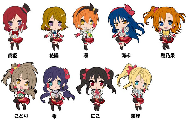 Love Live! Trading Rubber Strap 10Pack BOX(Back-order)