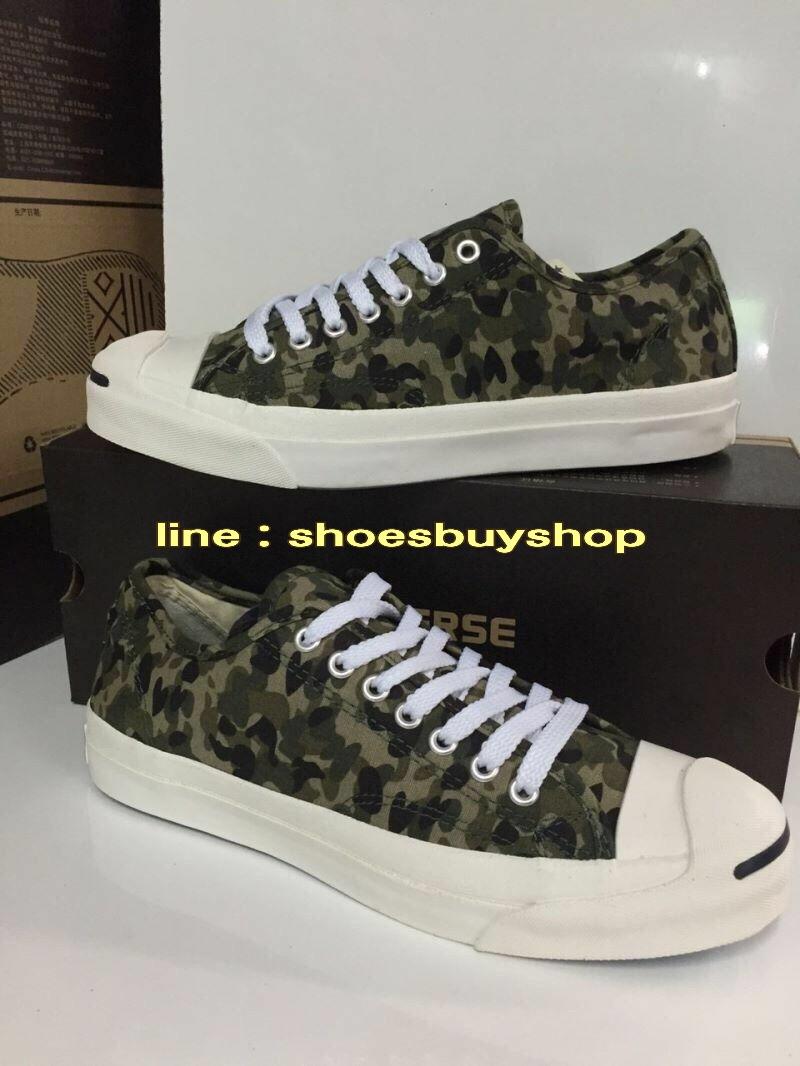 รองเท้าผ้าใบ converse ลายทหาร