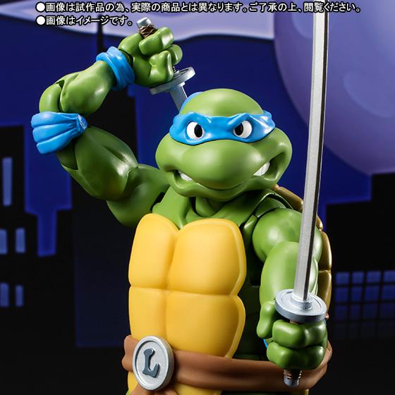 Teenage Mutant Ninja Turtles - Leonardo - S.H.Figuarts - 1987 (Limited)