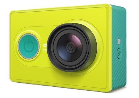 Xiaomi Yi Action Camera ส่งฟรี EMS - สีเขียว