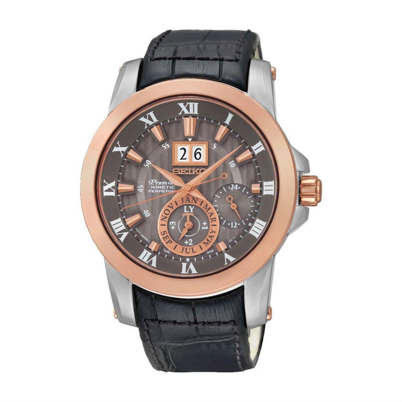 นาฬิกาผู้ชาย Seiko รุ่น SNP114P2, Premier Kinetic Perpetual