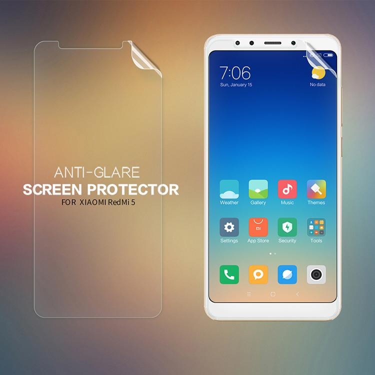 ฟิล์มกันรอยแบบด้าน Nillkin Matte สำหรับ Xiaomi Redmi 5