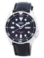 นาฬิกาผู้ชาย Seiko รุ่น SKX007J1-LS6, Automatic Diver's Ratio Black Leather