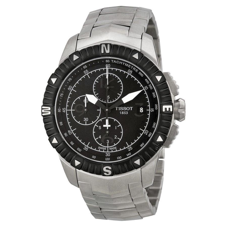 นาฬิกาผู้ชาย Tissot รุ่น T0624271105700, T-Navigator Chronograph Automatic 100m Men's Watch