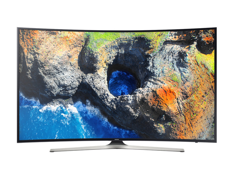 "Samsung 55"" Curved Smart 4K TV จอโค้ง UA55MU6300K Series 6"