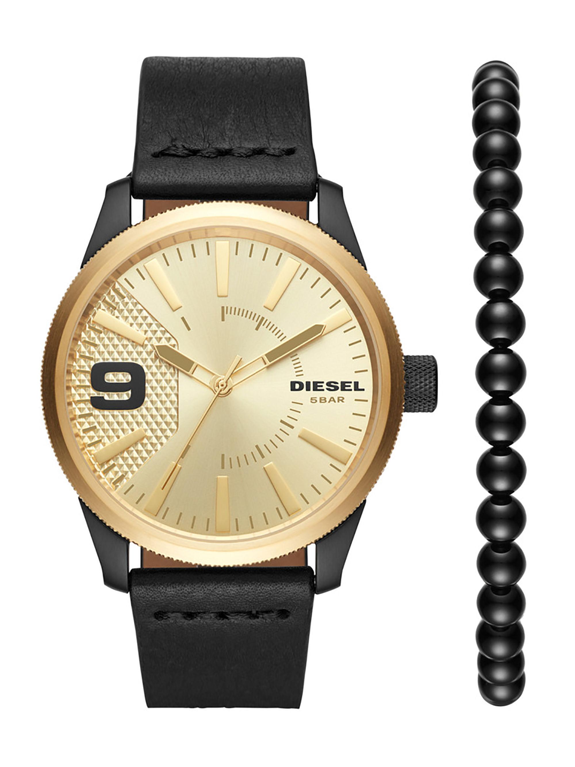 นาฬิกาผู้ชาย Diesel รุ่น DZ1840, Rasp Leather Men's Watch