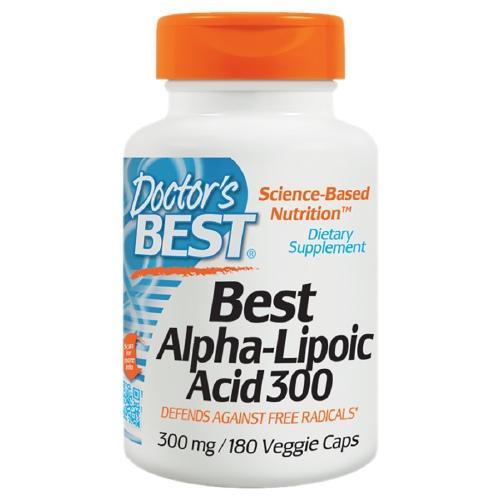 Doctor s Best Best Alpha-Lipoic Acid 300 mg 180 Veggie Caps