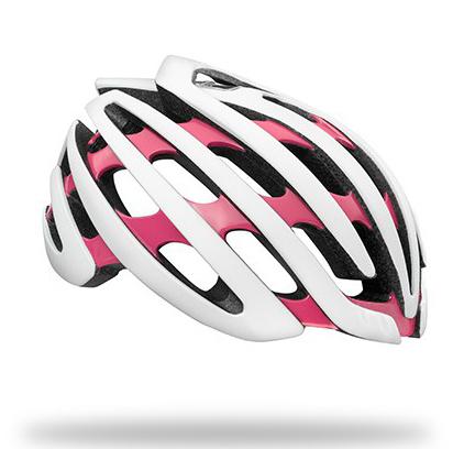 หมวกจักรยาน Cosmo (Z1) 2015 /White Coral (M)+LED