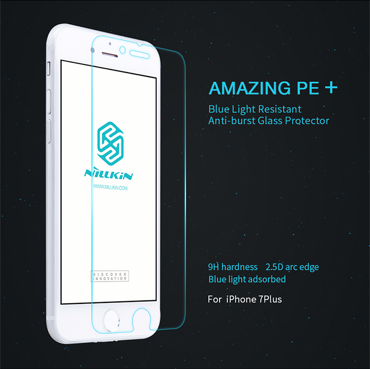 ฟิล์มกระจกนิรภัยถนอมสายตา Nillkin PE+ สำหรับ iPhone 7 Plus