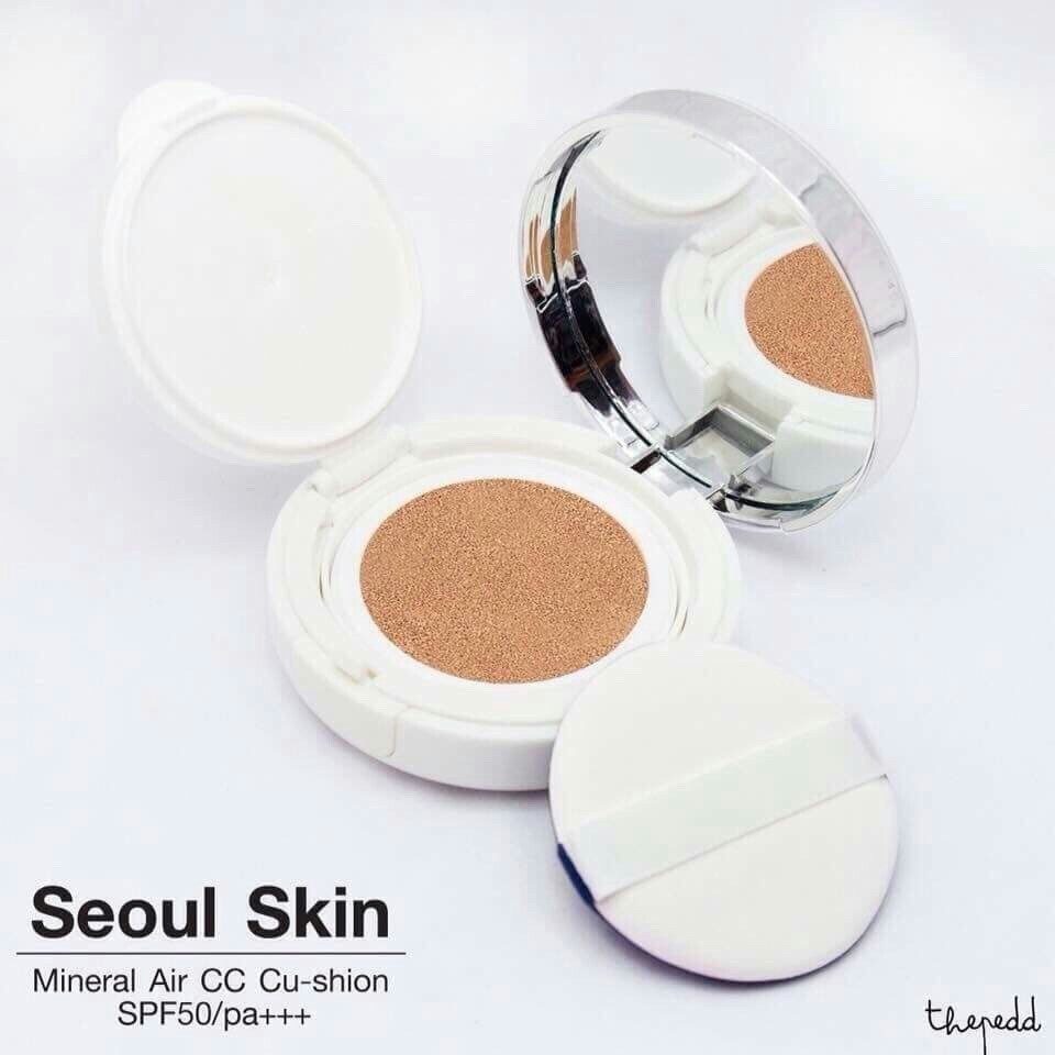 Soul Skin Mineral CC Air Cushion 8 in 1 No. 20 ผิวขาว - ขาวเหลือง