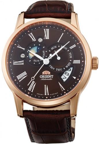 นาฬิกาผู้ชาย Orient รุ่น SET0T003T0, Automatic Sun And Moon Collection Japan