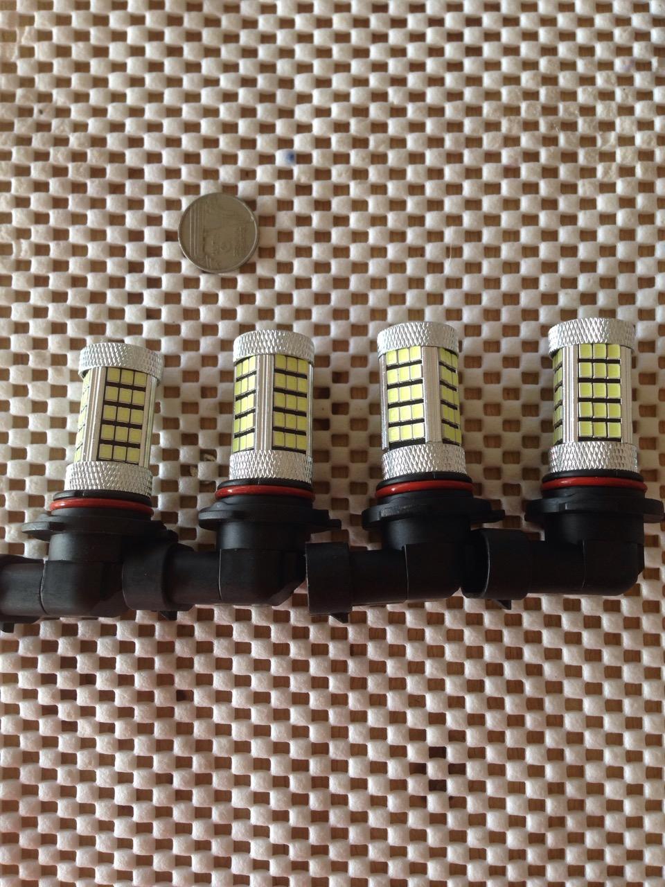 ไฟตัดหหมอกขั่ว 9006 LED 63 ดวงเลนส์โปรเจคเตอร์