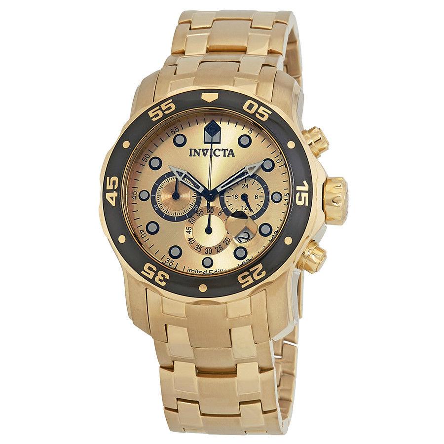 นาฬิกาผู้ชาย Invicta รุ่น ILE0072A, Pro Diver Chronograph 200m