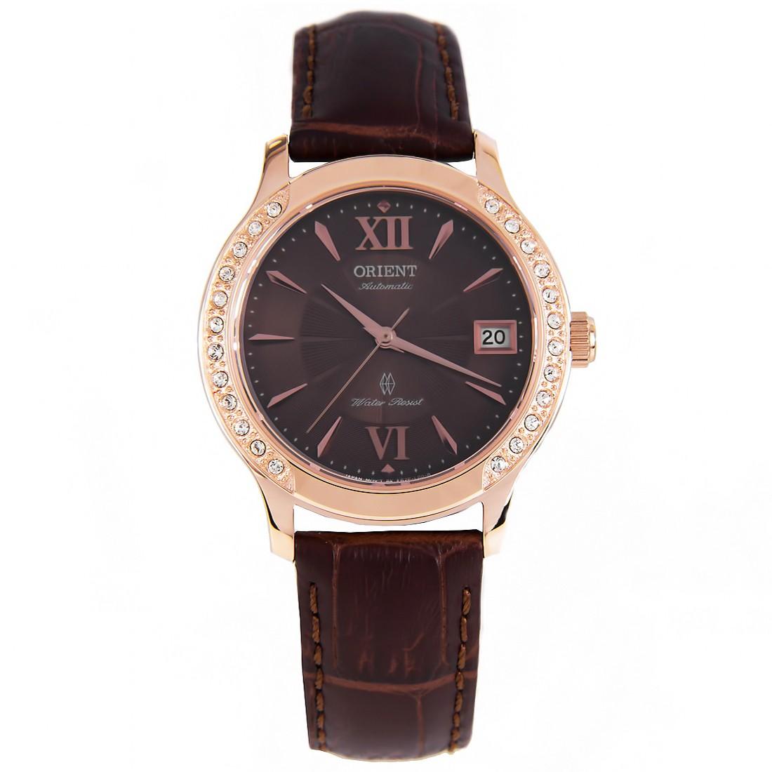 นาฬิกาผู้หญิง Orient รุ่น FER2E001T0, Automatic Fashionable Crystal