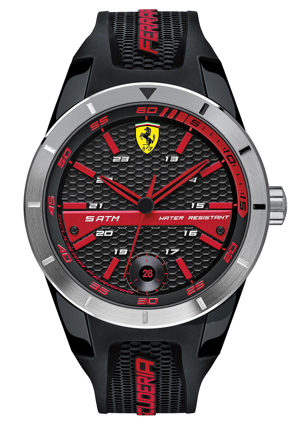 นาฬิกาผู้ชาย Ferrari รุ่น 0830253, RedRev T