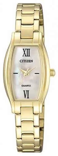 นาฬิกาผู้หญิง Citizen รุ่น EJ6112-52D, Quartz Gold