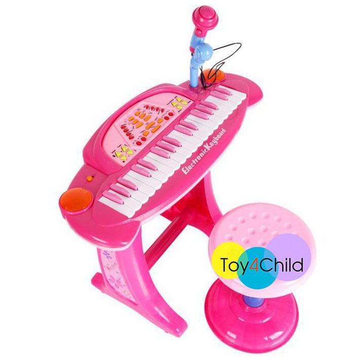 คีย์บอร์ดของเล่นเด็ก Electronic Keyboard 36 ฟังก์ชั่น ไมค์อัดเสียงได้ ราคาถูก