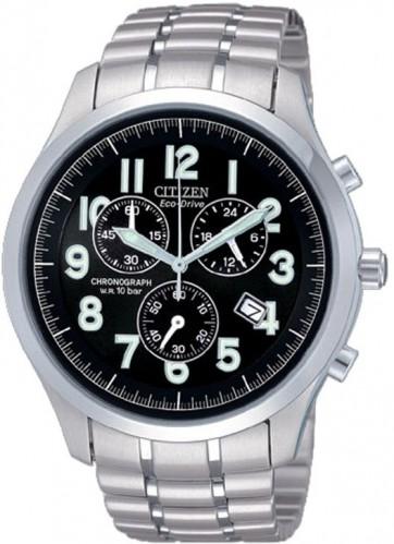 นาฬิกาข้อมือผู้ชาย Citizen Eco-Drive รุ่น AT0371-53F, Sapphire Japan Chronograph