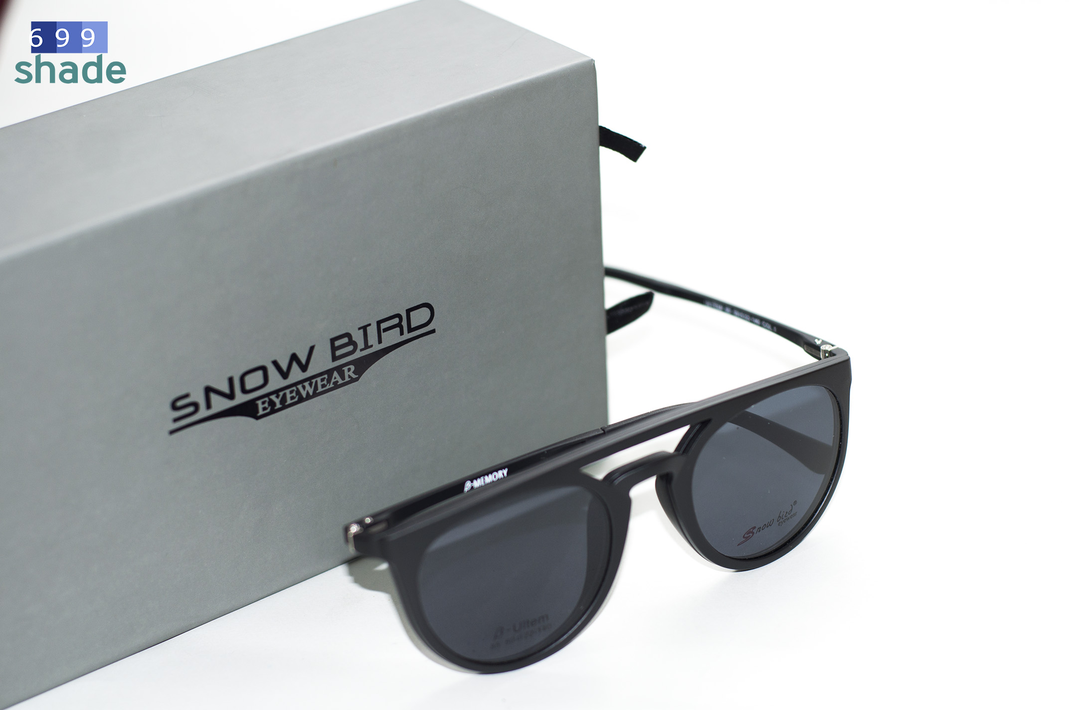 SNOW BIRD 85-C1 [แว่นคลิปออนแม่เหล็ก]