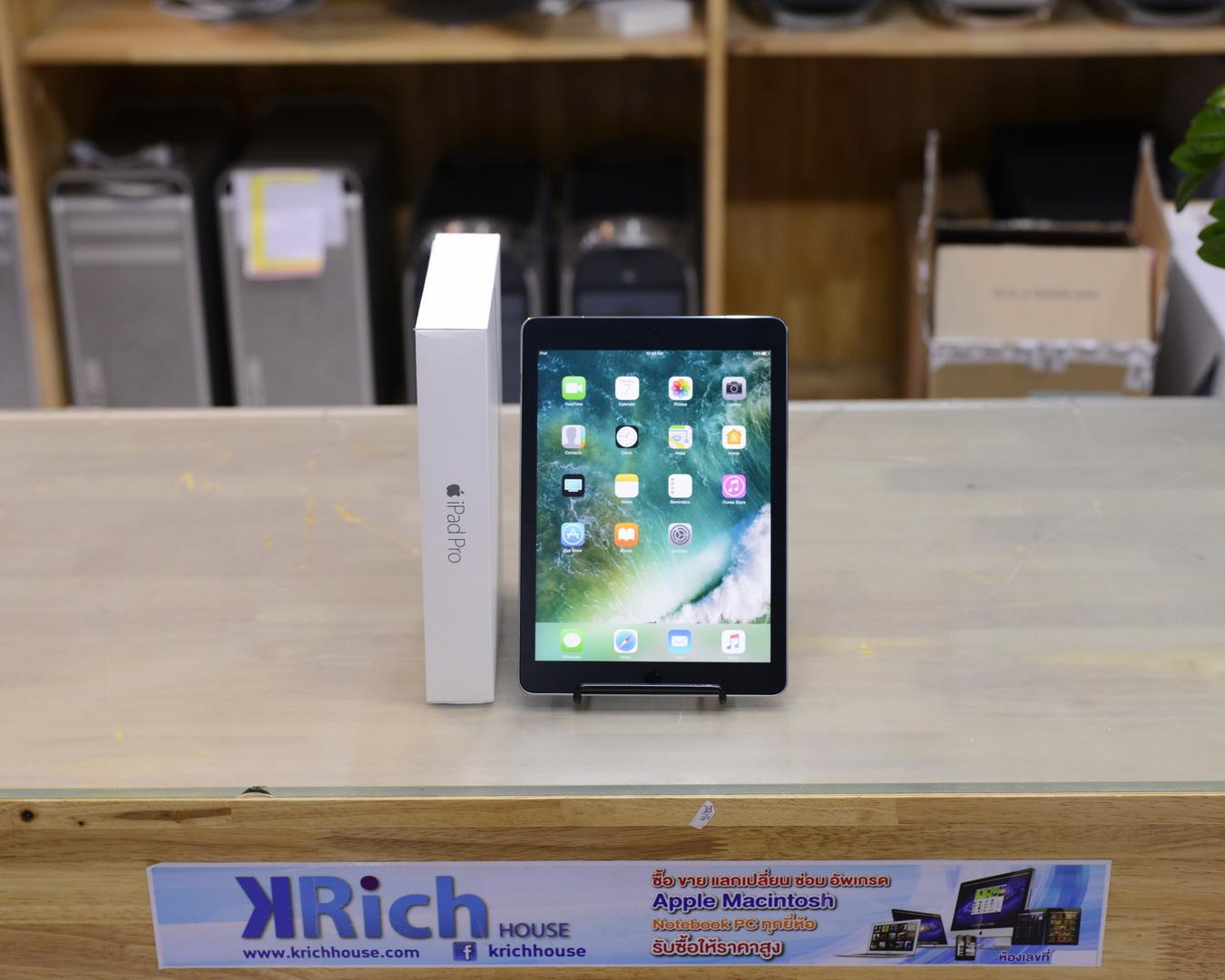 iPad Pro 9.7-inch 128GB Wi-Fi + Cellular, Space Gray - Fullbox - Apple Warranty 30/03/2018