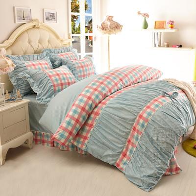 ชุดผ้าปูที่นอนเจ้าหญิง ลูกไม้ SD3019-14P