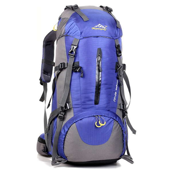 DF06 กระเป๋าเดินทาง สีน้ำเงิน ขนาดจุสัมภาระ 45+5 ลิตร