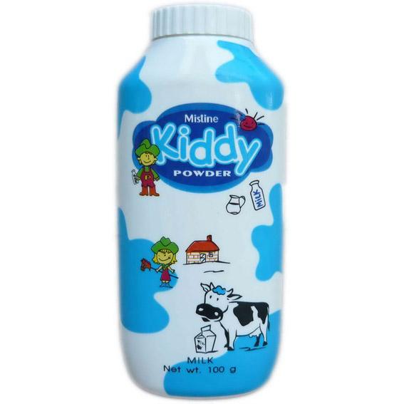 แป้งหอมโรยตัว มิสทิน/มิสทีน คิดดี้ กลิ่น น้ำนม Mistine Kiddy Powder – Milk
