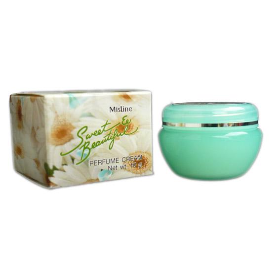 มิสทิน สวีท แอนด์ บิวตี้ฟูล เพอร์ฟูม ครีม Mistine Sweet Beautiful Perfume Cream