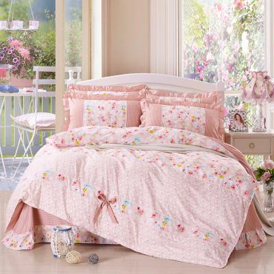 ชุดผ้าปูที่นอนเจ้าหญิง ลูกไม้ SD3020-12P