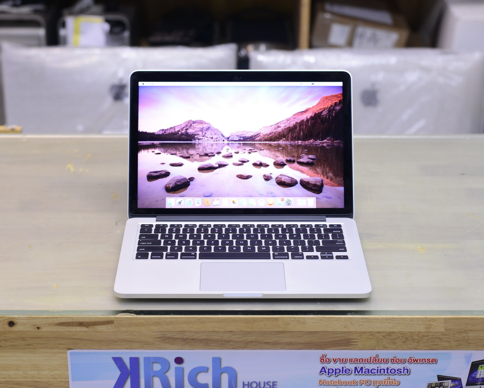 MacBook Pro Retina 13-inch Early2015 Core i5 2.7GHz RAM 8GB SSD 128GB English Keyboard