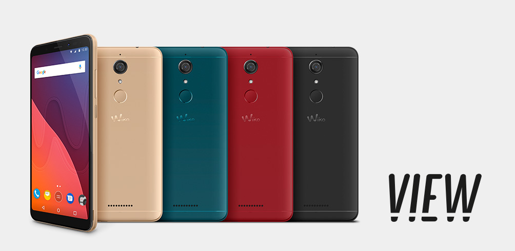 "Wiko View 5.7""HD+ QC ROM16GB/RAM3GB 13MP/16MP 4G"