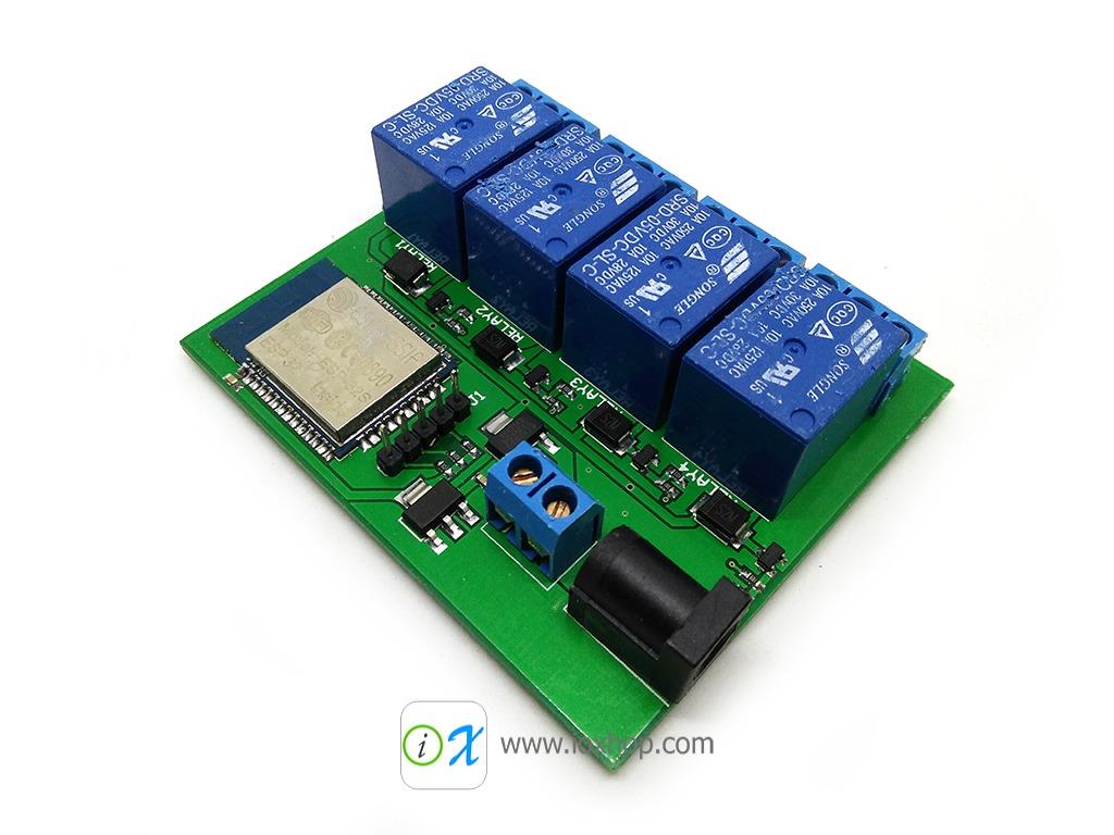 DIYmall ESP32S Relay 4 Channel Wifi Bluetooth Module