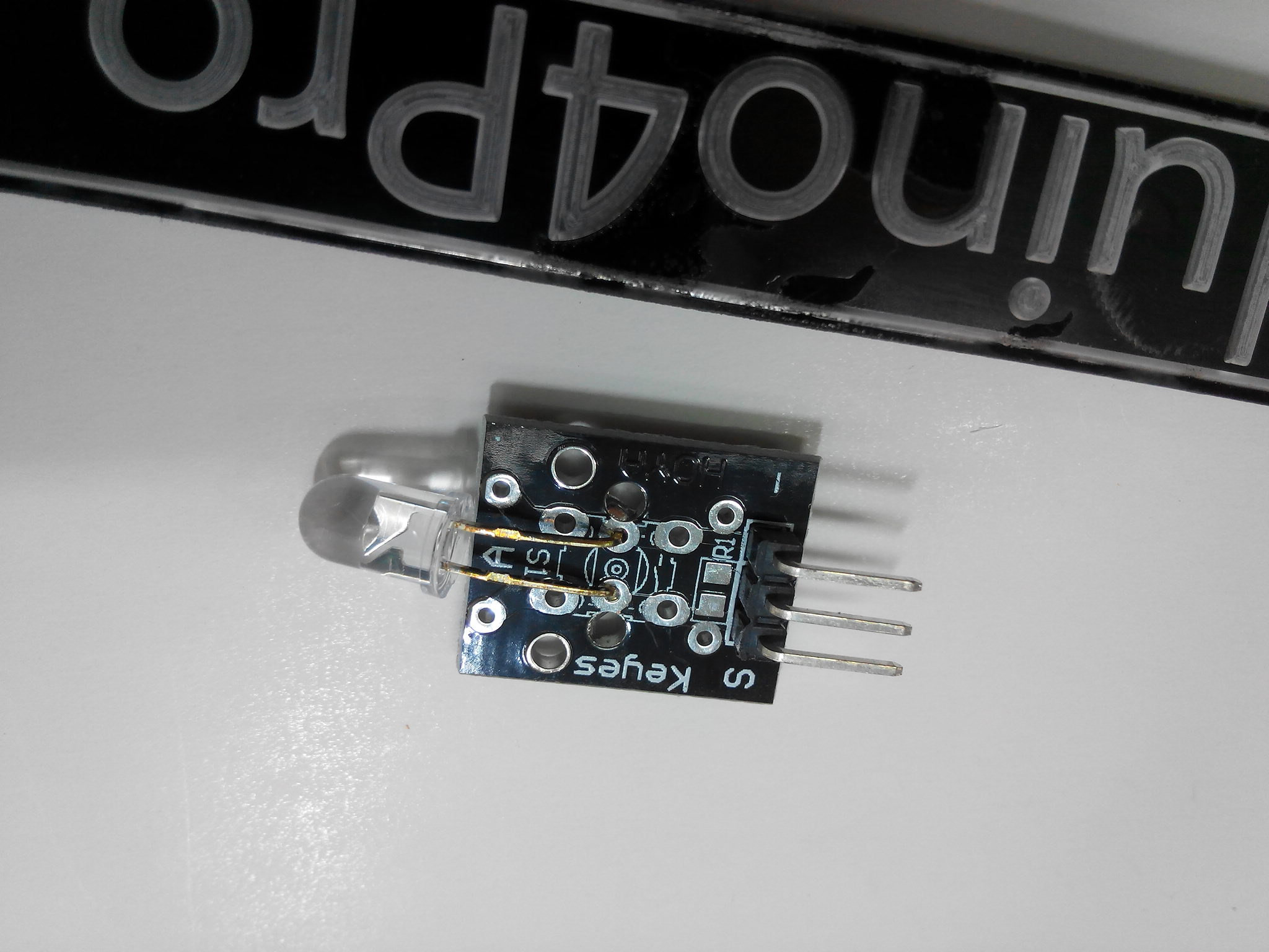 Infrared transmitter module for arduino